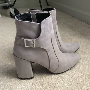 Pretty Grey Booties